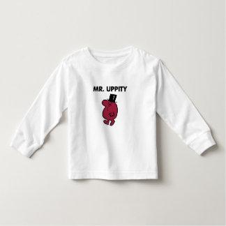 Monóculo y sombrero de copa de Sr. Uppity el | Camiseta De Bebé