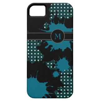 monograma. añada su inicial iPhone 5 Case-Mate funda