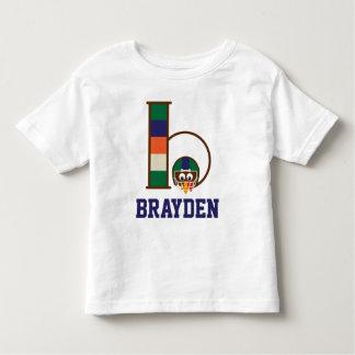 Monograma b de la camiseta de Turquía del fútbol