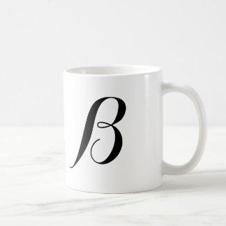 Monograma-b Taza De Café