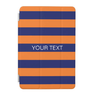 Monograma conocido de muy buen gusto de la raya #2 cubierta de iPad mini