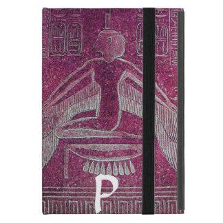 MONOGRAMA de ISIS, rosa de la antigüedad iPad Mini Protector