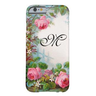 MONOGRAMA DE LOS ROSAS Y DE LOS JAZMÍNES FUNDA PARA iPhone 6 BARELY THERE