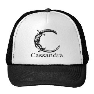 Monograma de lujo: Cassandra Gorra