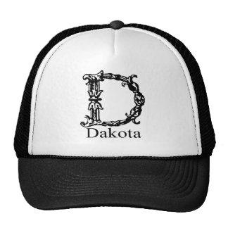Monograma de lujo: Dakota Gorro