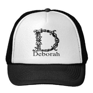 Monograma de lujo: Deborah Gorras