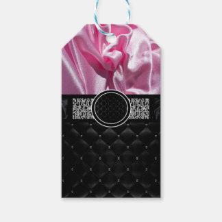 Monograma de lujo etiquetas para regalos