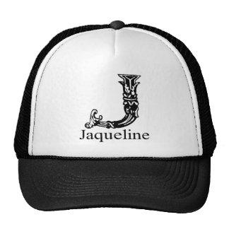 Monograma de lujo: Jaqueline Gorro De Camionero