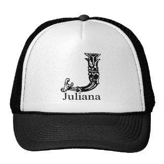 Monograma de lujo: Juliana Gorra