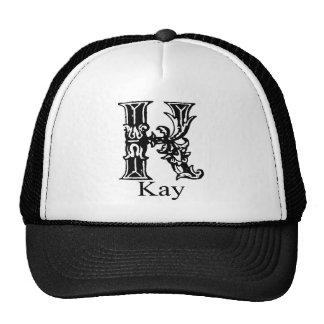 Monograma de lujo: Kay Gorros Bordados