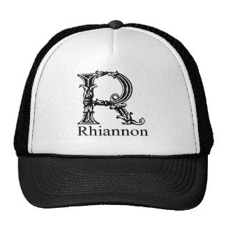 Monograma de lujo: Rhiannon Gorras