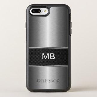 Monograma del profesional del negocio funda OtterBox symmetry para iPhone 7 plus