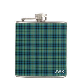 Monograma escocés verde claro del tartán de Keith Petaca