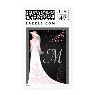 Monograma - franqueo de encargo del boda