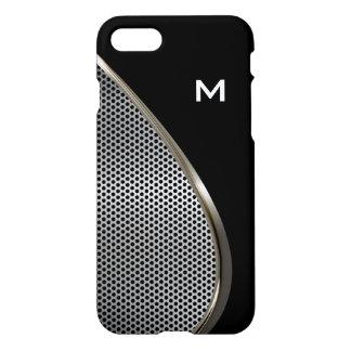 Monograma fresco para hombre del negocio funda para iPhone 7