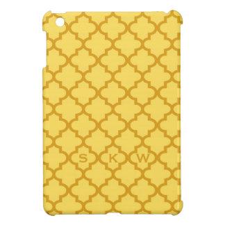 Monograma marroquí del diseño 3 de la teja del ama