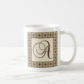 Monograma: Moca de Choca:  A Taza De Café