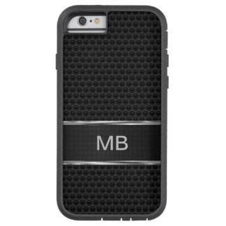 Monograma para hombre del negocio funda tough xtreme iPhone 6