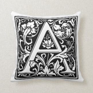 Monograma una almohada