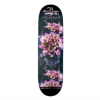 Monopatín 18,1 Cm Floral profundo