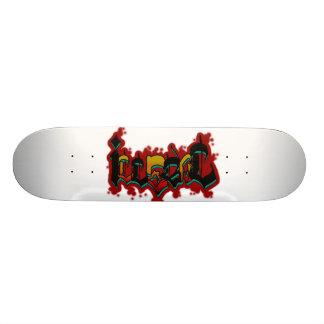 Monopatín 18,4 Cm Illegal Skate