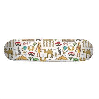 Monopatín 18,4 Cm Símbolos del color del modelo de Egipto