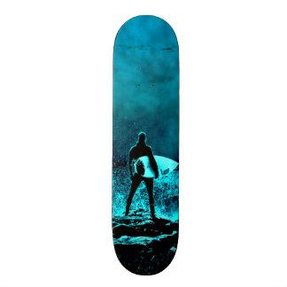 Monopatín 19,6 Cm Estilo del Grunge del verano que practica surf