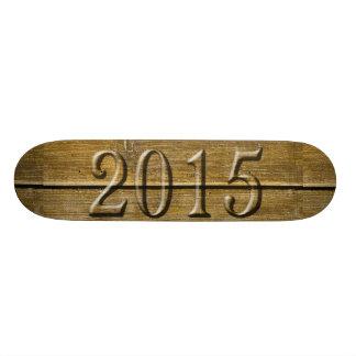 Monopatín 2015 del vintage