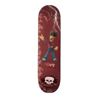 Monopatín 21,6 Cm Clay Kids - Skateboard Robbie