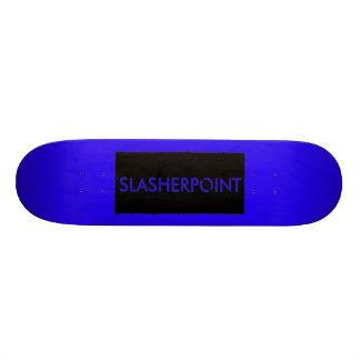Monopatín azul fresco de la marca de SLASHERPOINT™
