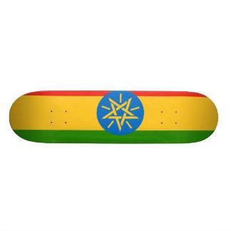 Monopatin Bandera de Etiopía