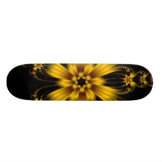 Monopatín de cobre de la explosión de la flor