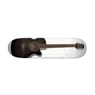 monopatín de la guitarra