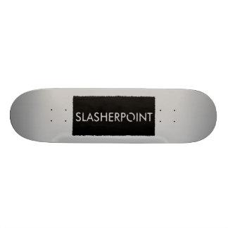 Monopatín de la plata de la marca de SLASHERPOINT™