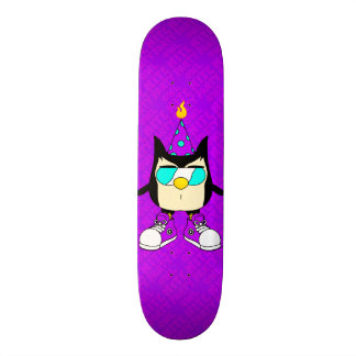 Monopatín de la púrpura de la marca de Nite™ del
