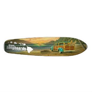 Monopatín de Maui Longboards Woody Longboard