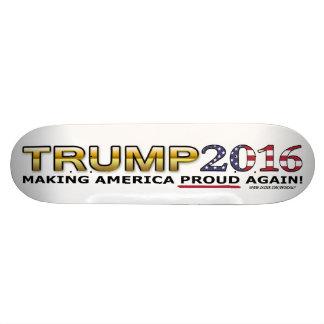 Monopatín de oro del patriota 2016 del triunfo