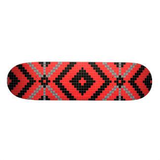 Monopatín del diseño del nativo americano