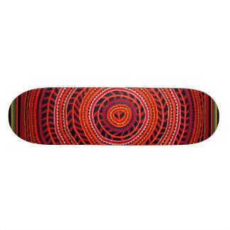 Monopatín del universo de Sun del indio de Kuna -