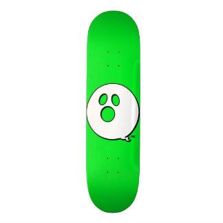 Monopatín del verde de la marca de Rayshine GHOST™