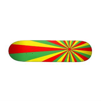 Monopatín del vórtice de Rastafarian mini