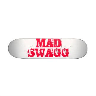 Monopatín enojado de Swagg