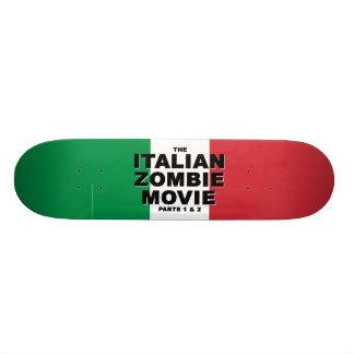 Monopatín italiano de la película del zombi