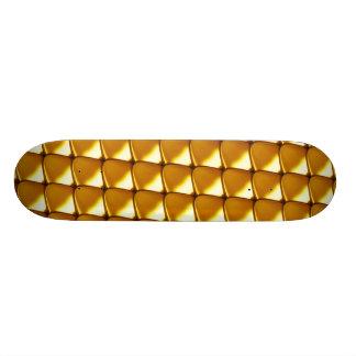 Monopatín Personalizado Modelo elegante de la escala del oro