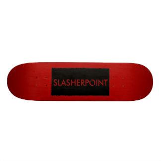 Monopatín rojo oscuro de la marca de SLASHERPOINT™