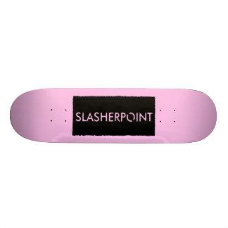 Monopatín rosa claro de la marca de SLASHERPOINT™