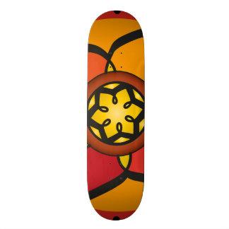 Monopatines Personalizados Tabla Skate con dibujos geométricos