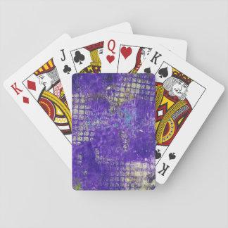 Monoprint abstracto 1711305 naipes