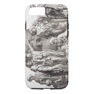 Monsieur Drovetti y sus seguidores que usan un Funda iPhone 7