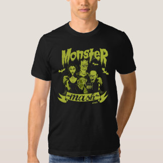 monster mash camiseta